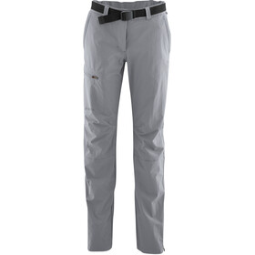 Maier Sports Inara Slim lange broek Dames regular grijs